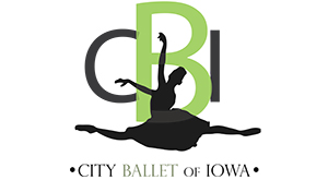 City Ballet of Iowa logo