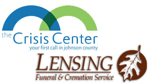 The Crisis Center of Johnson County and Lensing Funeral Home