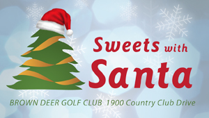 Sweets with Santa logo