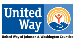 United Way of Johnson and Washington Counties logo
